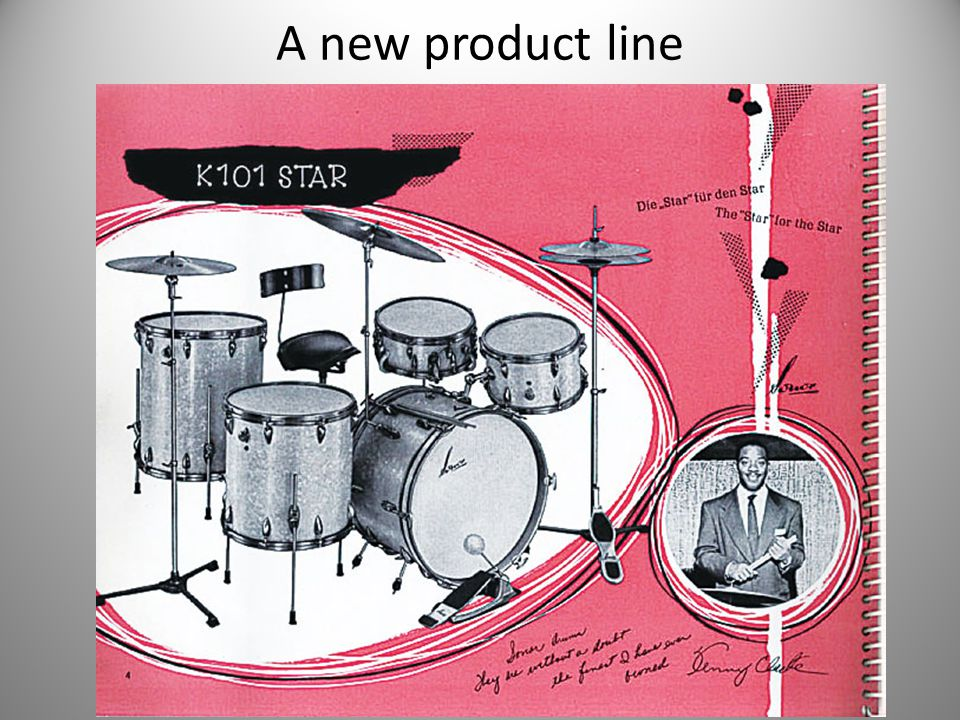 A new product line