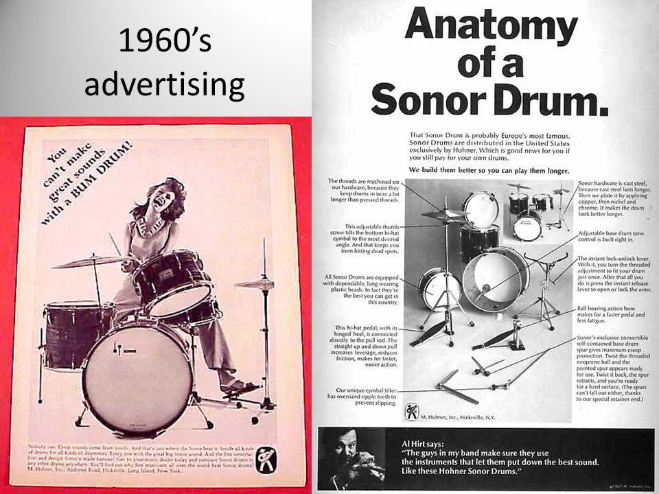 1960's advertising