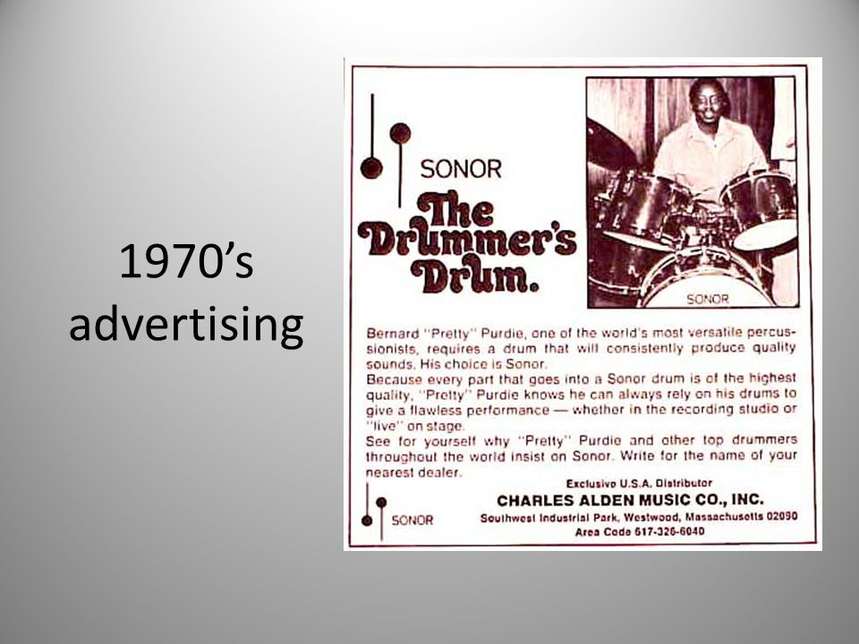 1970's advertising