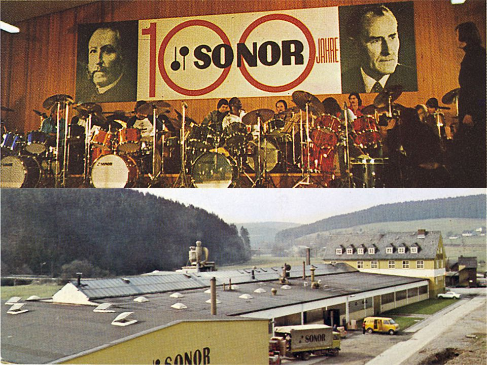 Sonor reaches 100!