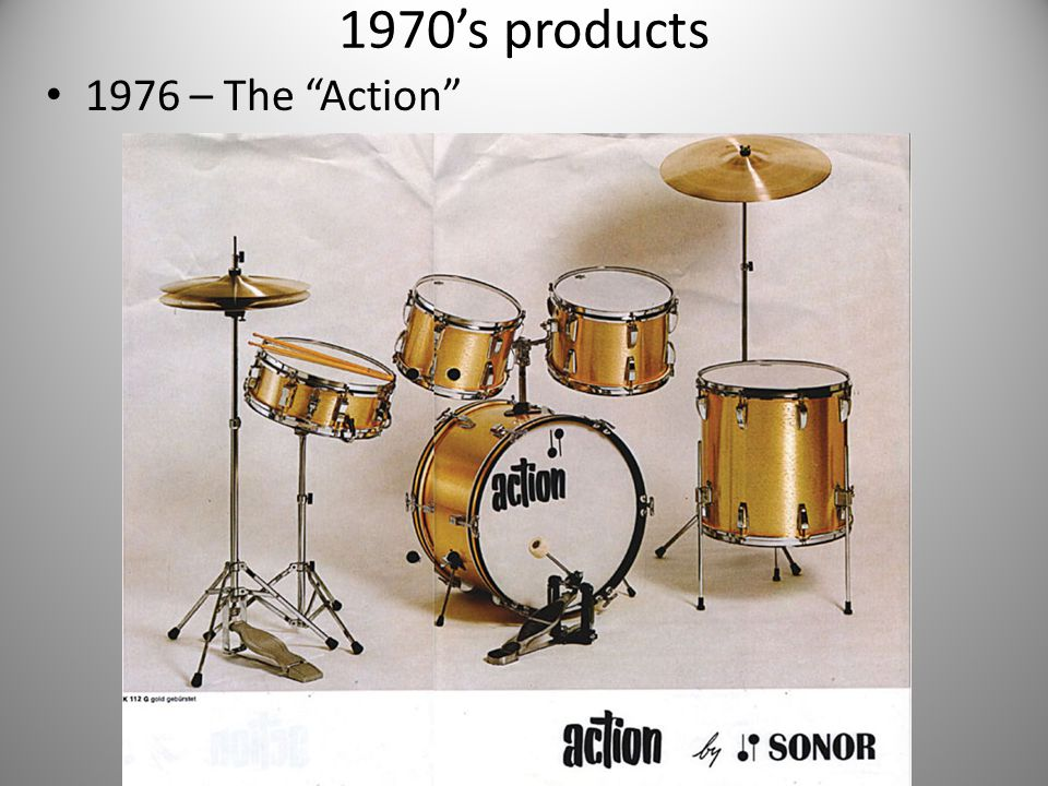 1970's products 1976 – The Action