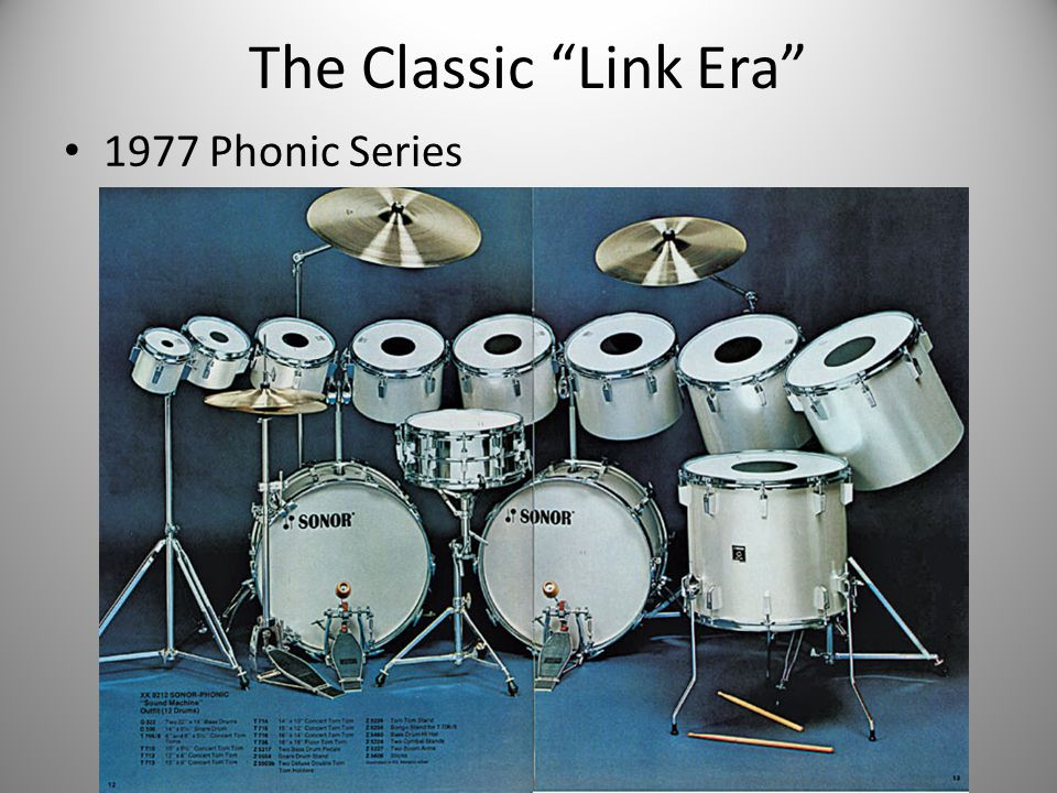 The Classic Link Era 1977 Phonic Series