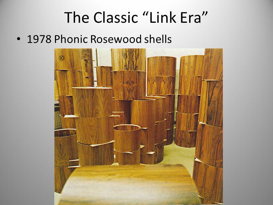 The Classic Link Era 1978 Phonic Rosewood shells