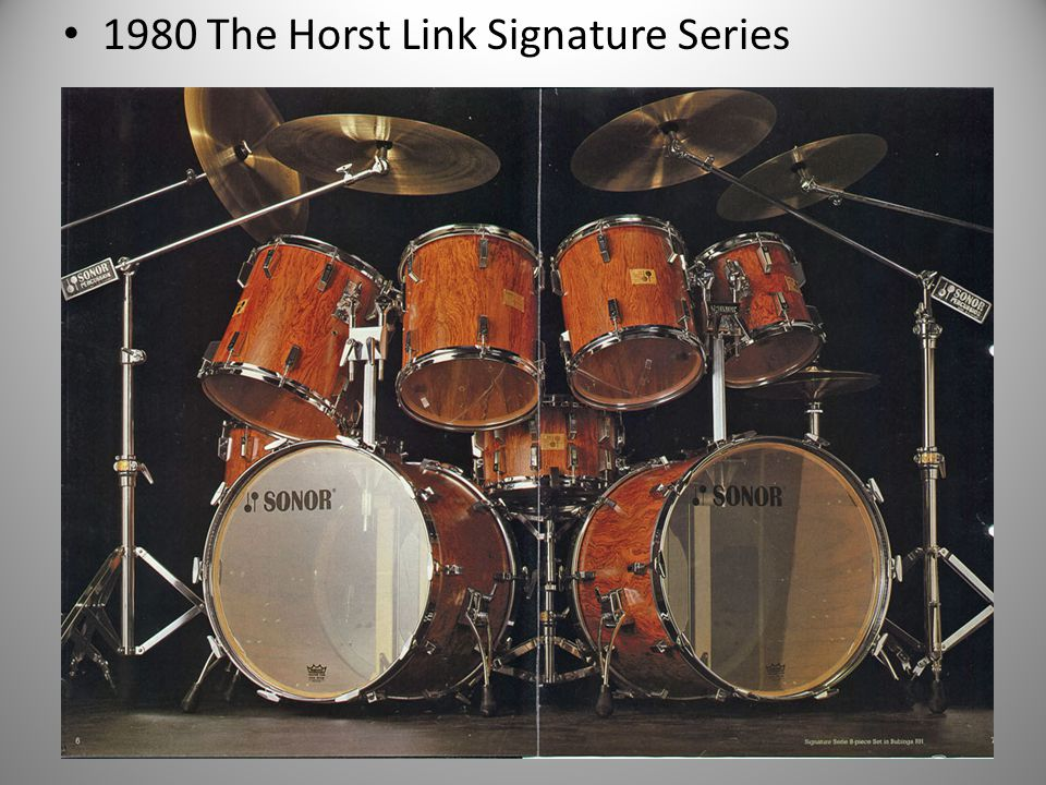 1980 The Horst Link Signature Series