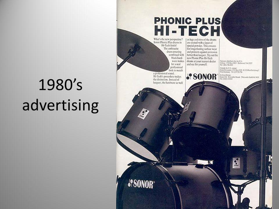 1980's advertising