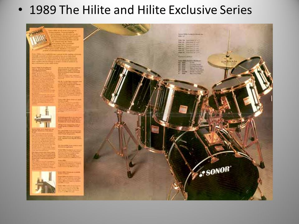 1989 The Hilite and Hilite Exclusive Series