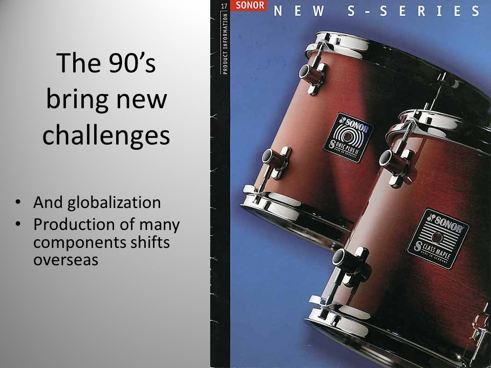 The 90's bring new challenges