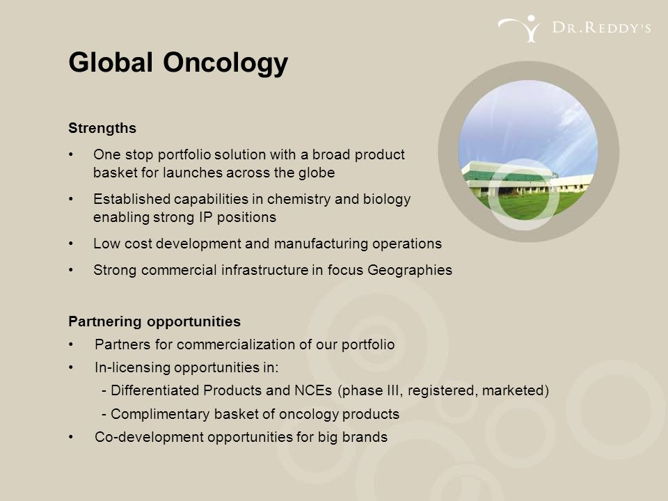 Global Oncology Strengths