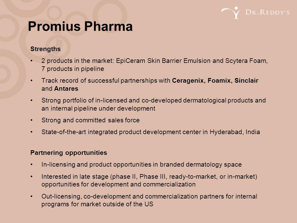 Promius Pharma Strengths
