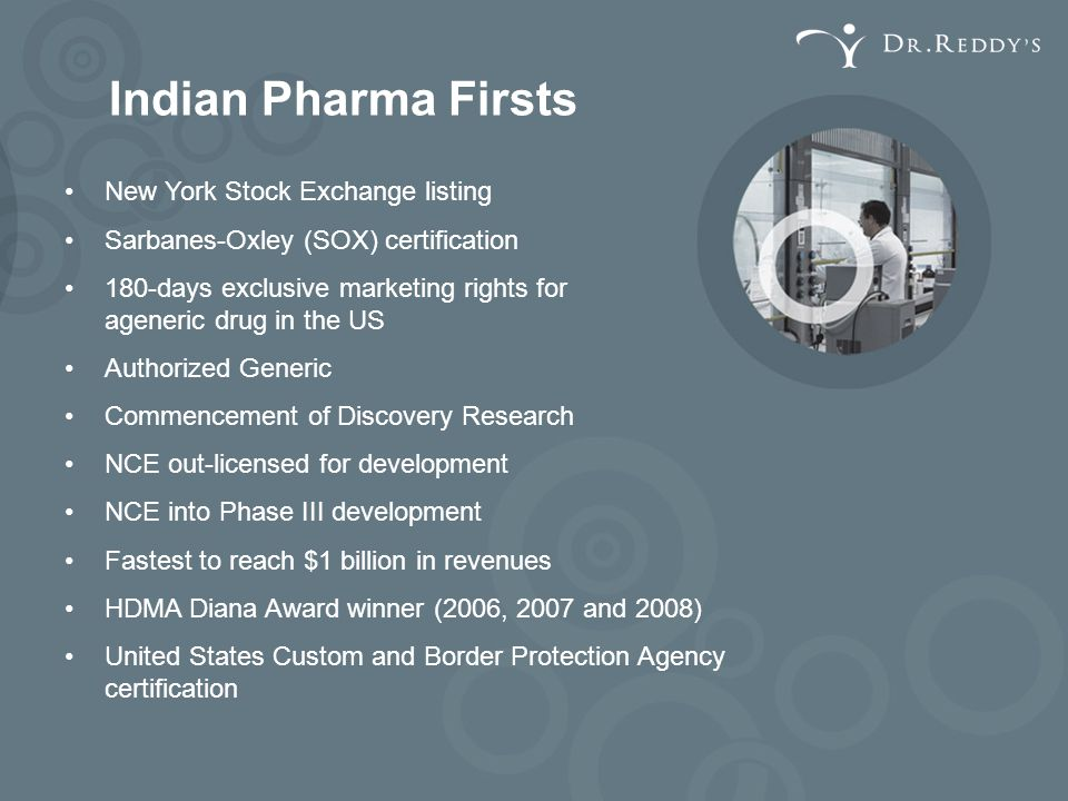 Indian Pharma Firsts New York Stock Exchange listing