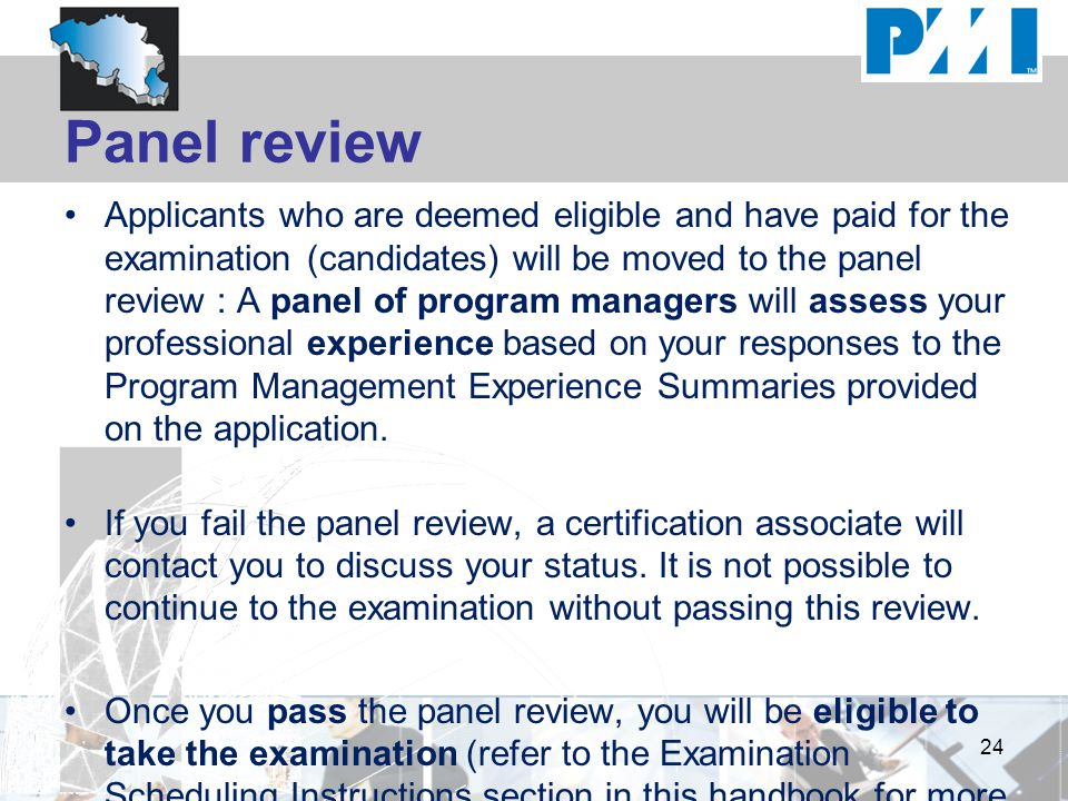 Panel review
