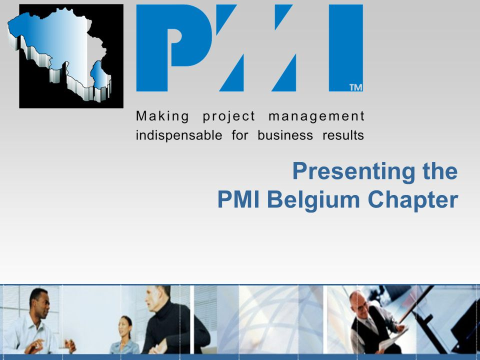 Presenting the PMI Belgium Chapter