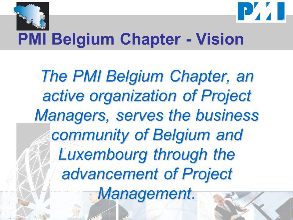PMI Belgium Chapter - Vision