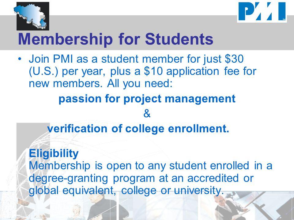 Membership for Students