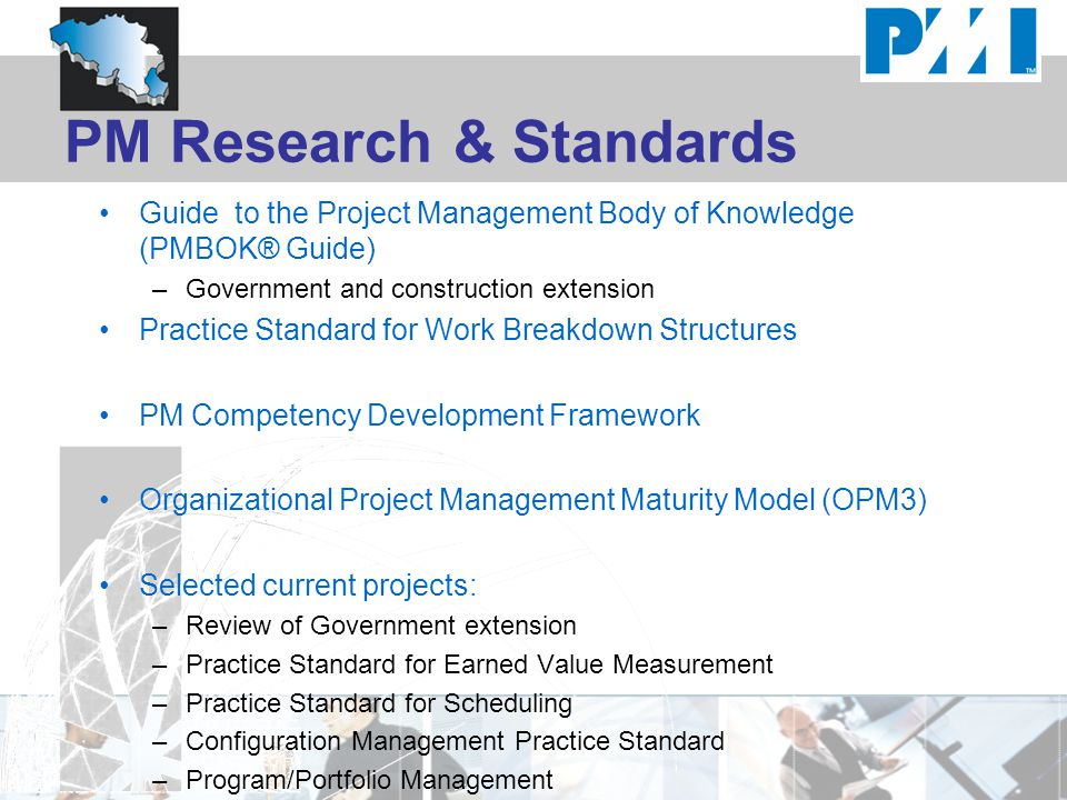 PM Research & Standards