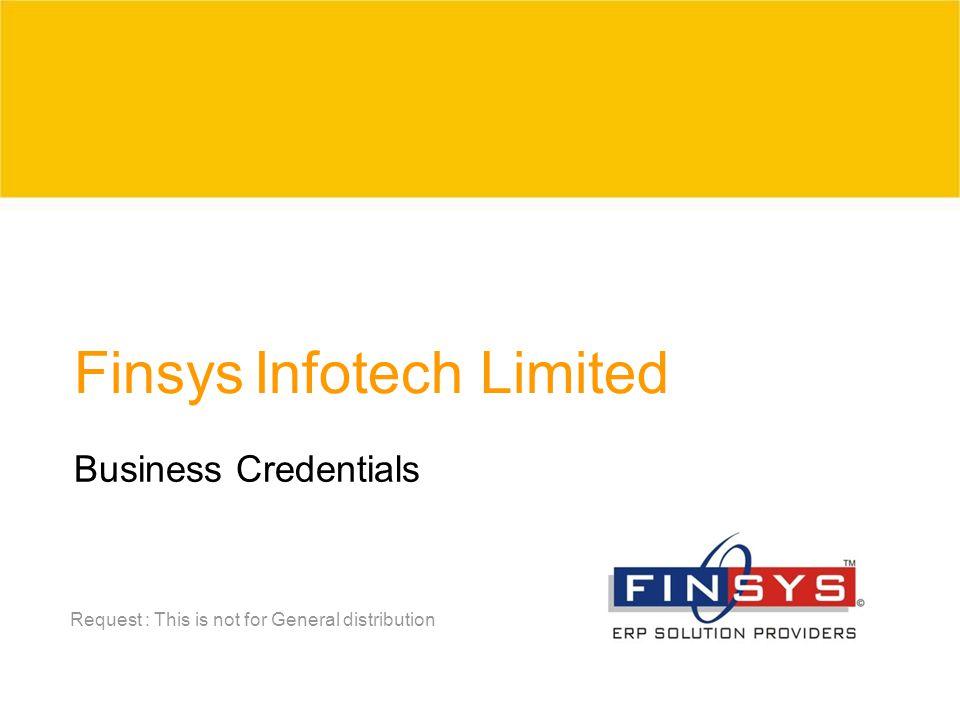 Finsys Infotech Limited