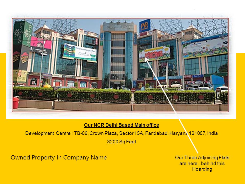 Our NCR Delhi Based Main office