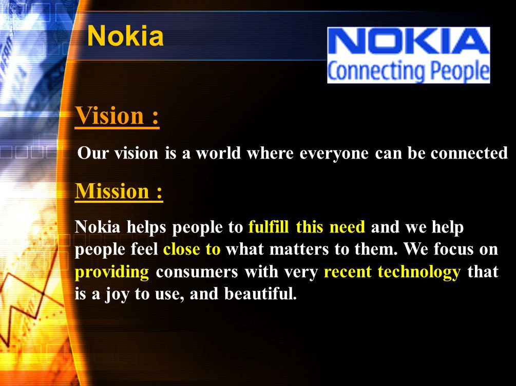 Our vision is a world where everyone can be connected