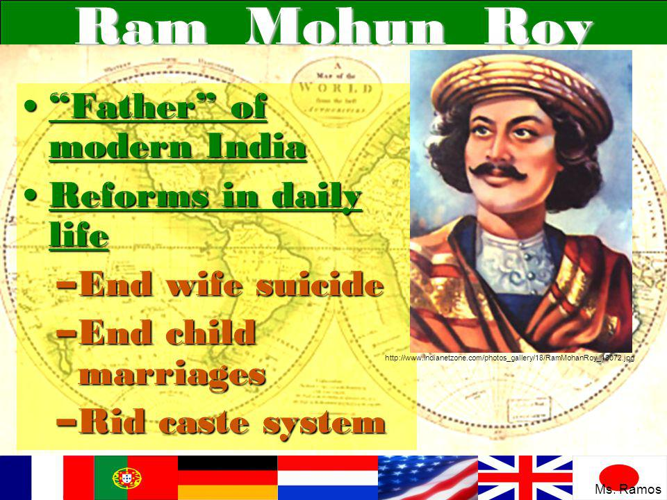 Ram Mohun Roy Father of modern India Reforms in daily life