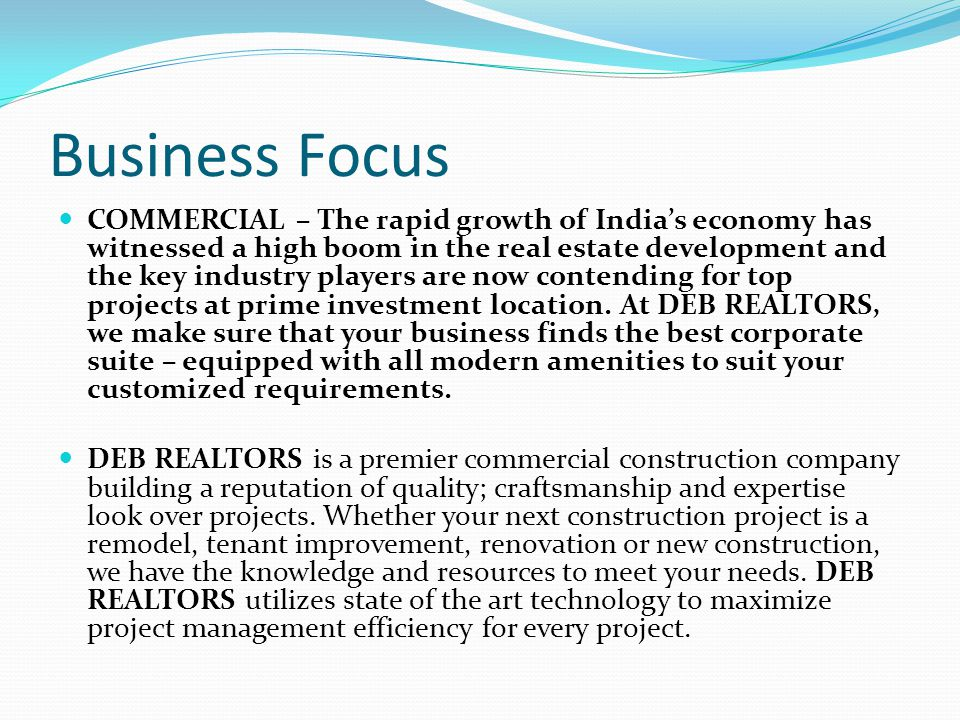 Business Focus