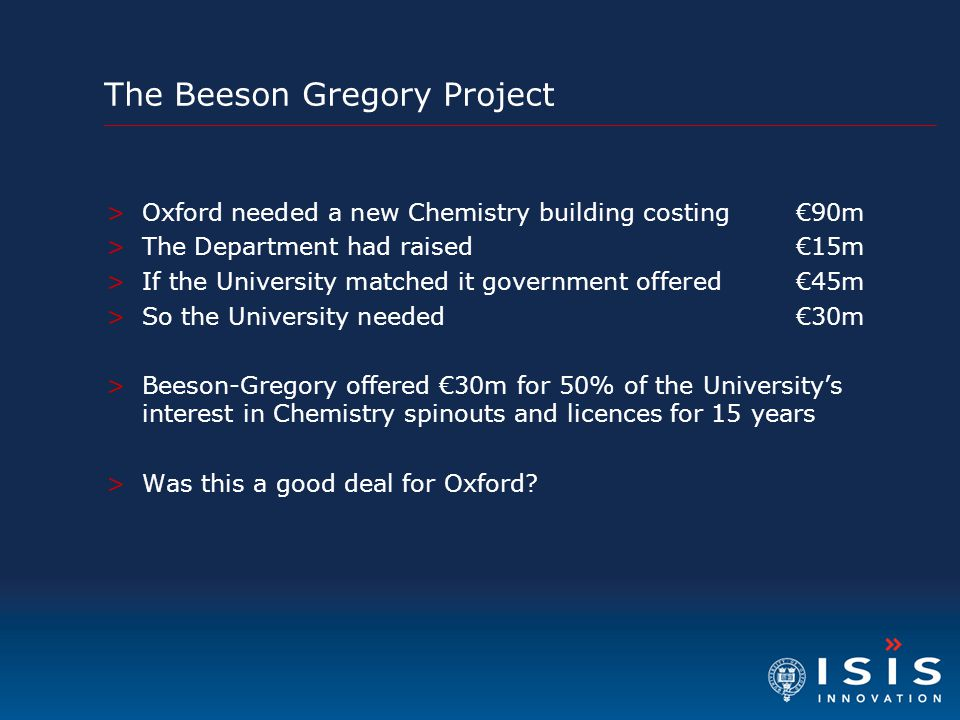 The Beeson Gregory Project