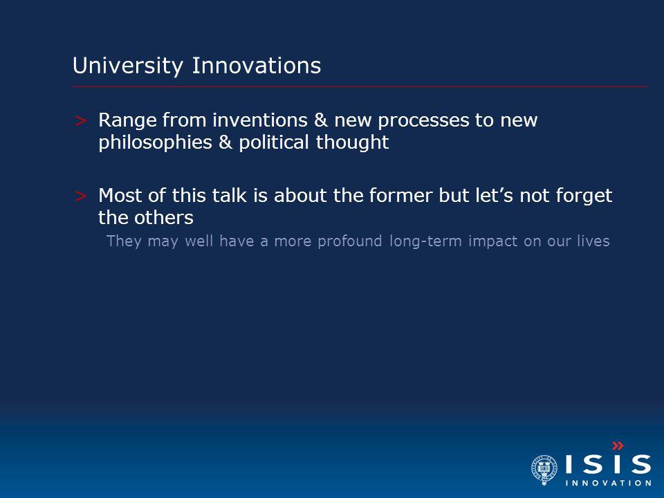 University Innovations