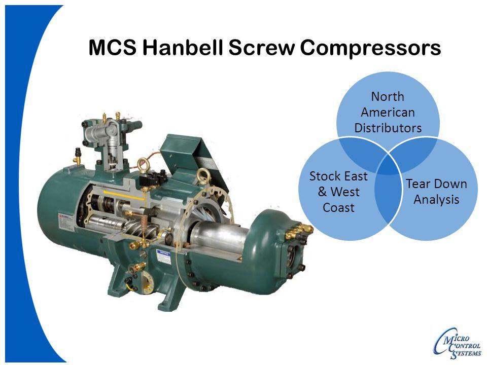 MCS Hanbell Screw Compressors