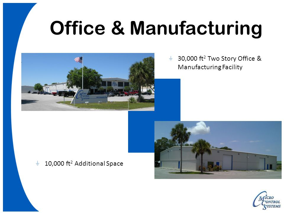 Office & Manufacturing