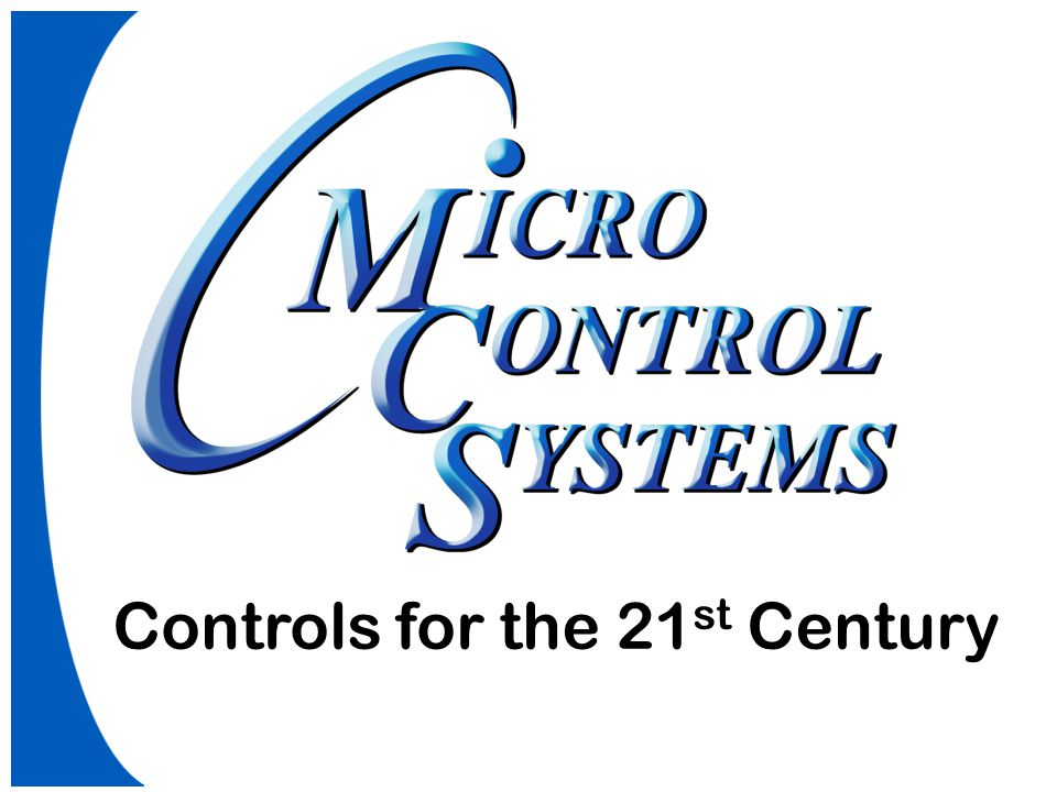 Controls for the 21st Century