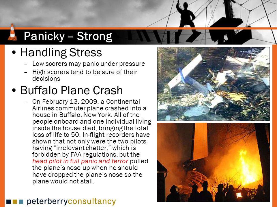 Panicky – Strong Handling Stress Buffalo Plane Crash