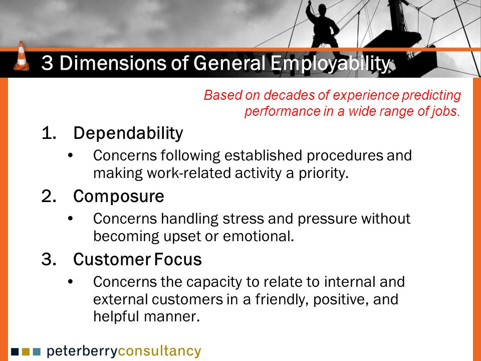 3 Dimensions of General Employability