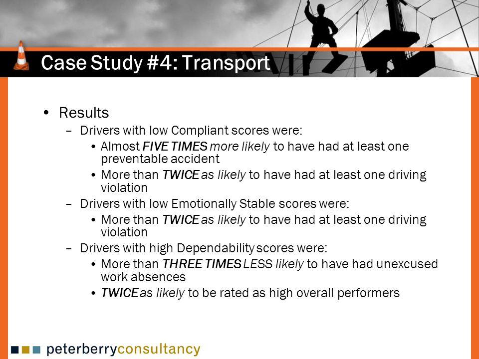 Case Study #4: Transport