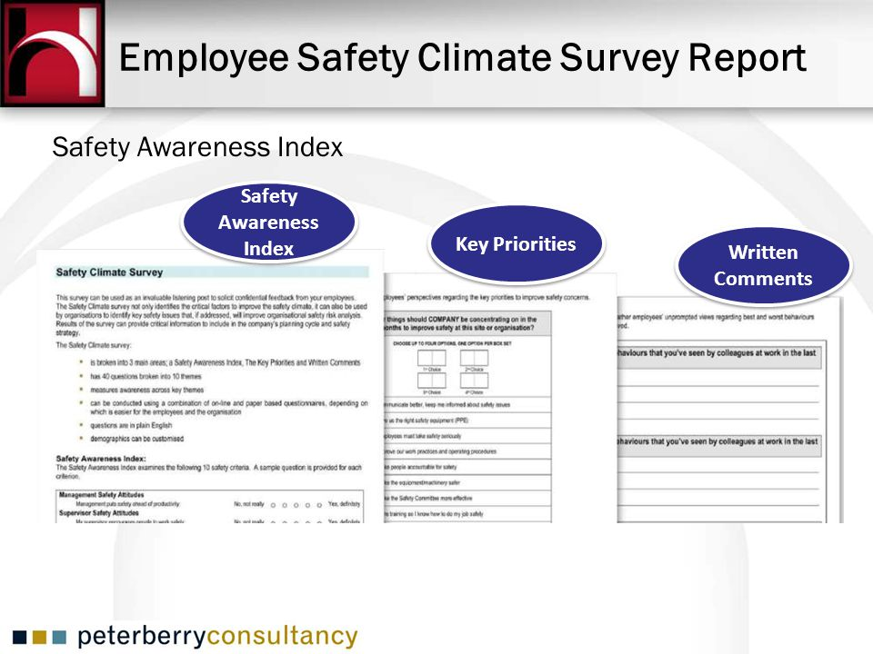 Employee Safety Climate Survey Report