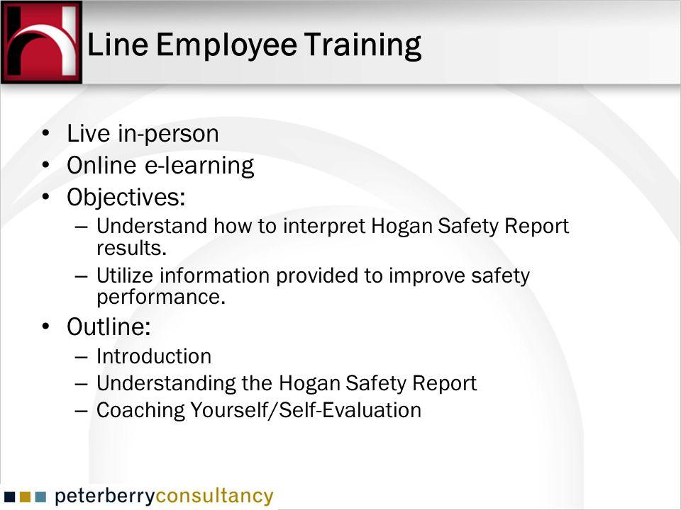 Line Employee Training