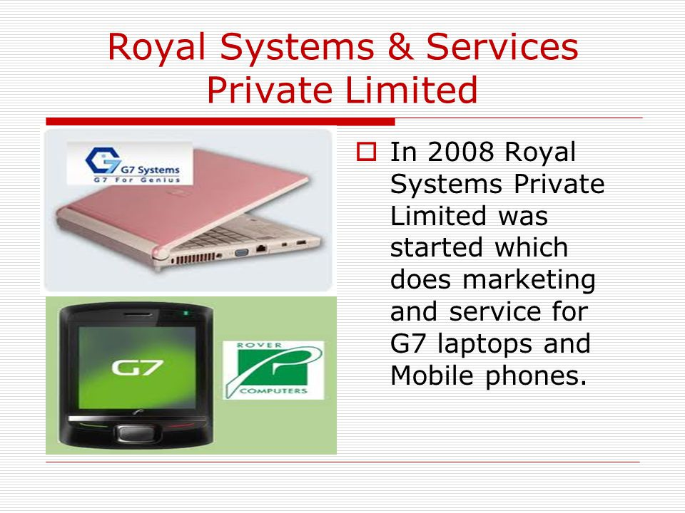 Royal Systems & Services Private Limited