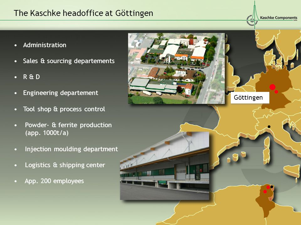 The Kaschke headoffice at Göttingen