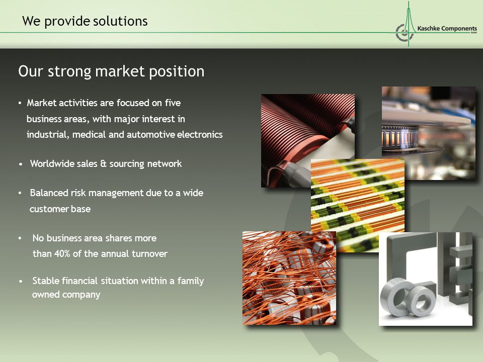 Our strong market position