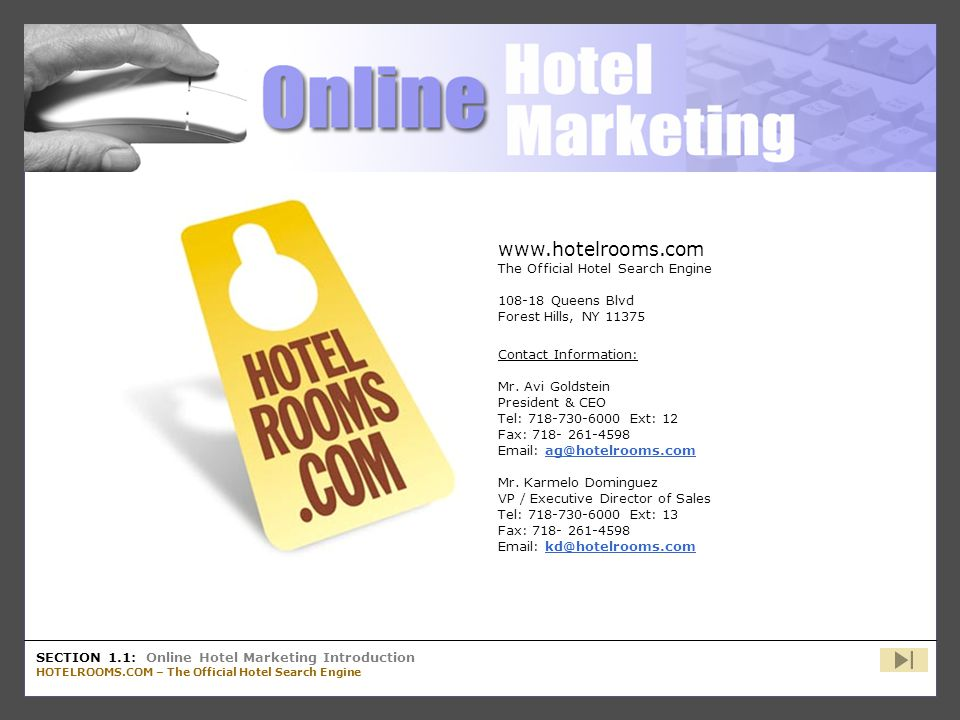 www.hotelrooms.com The Official Hotel Search Engine