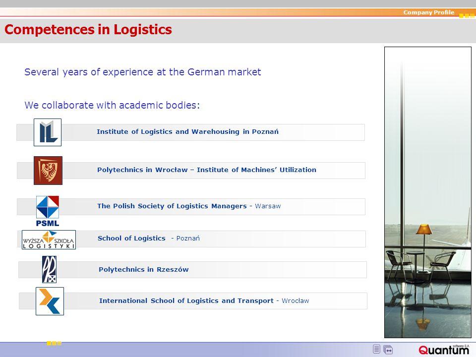 Competences in Logistics