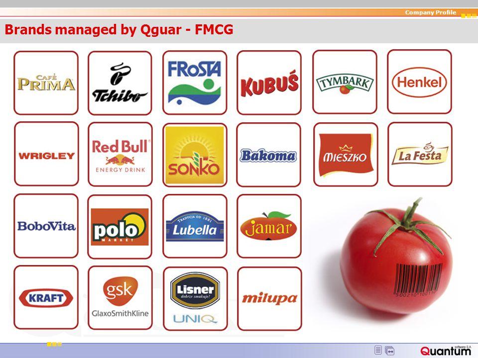 Brands managed by Qguar - FMCG