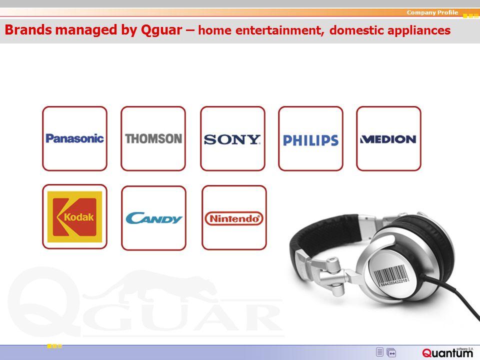 Qguar – home entertainment, domestic appliances