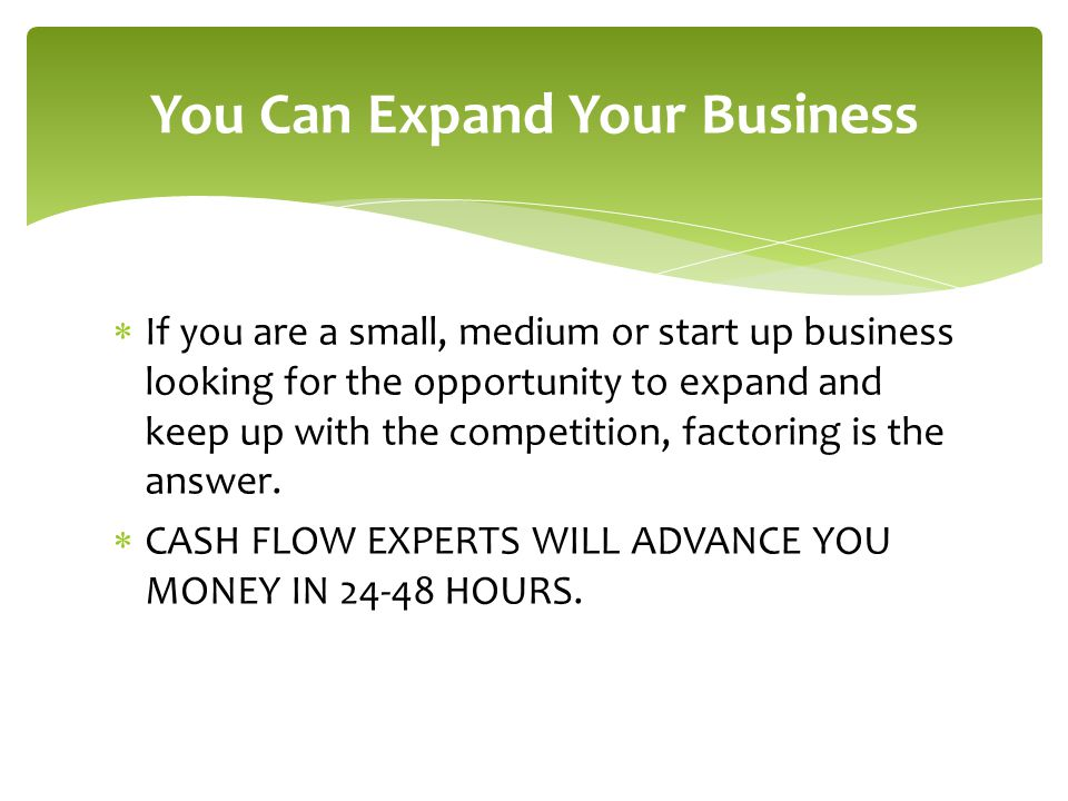 You Can Expand Your Business