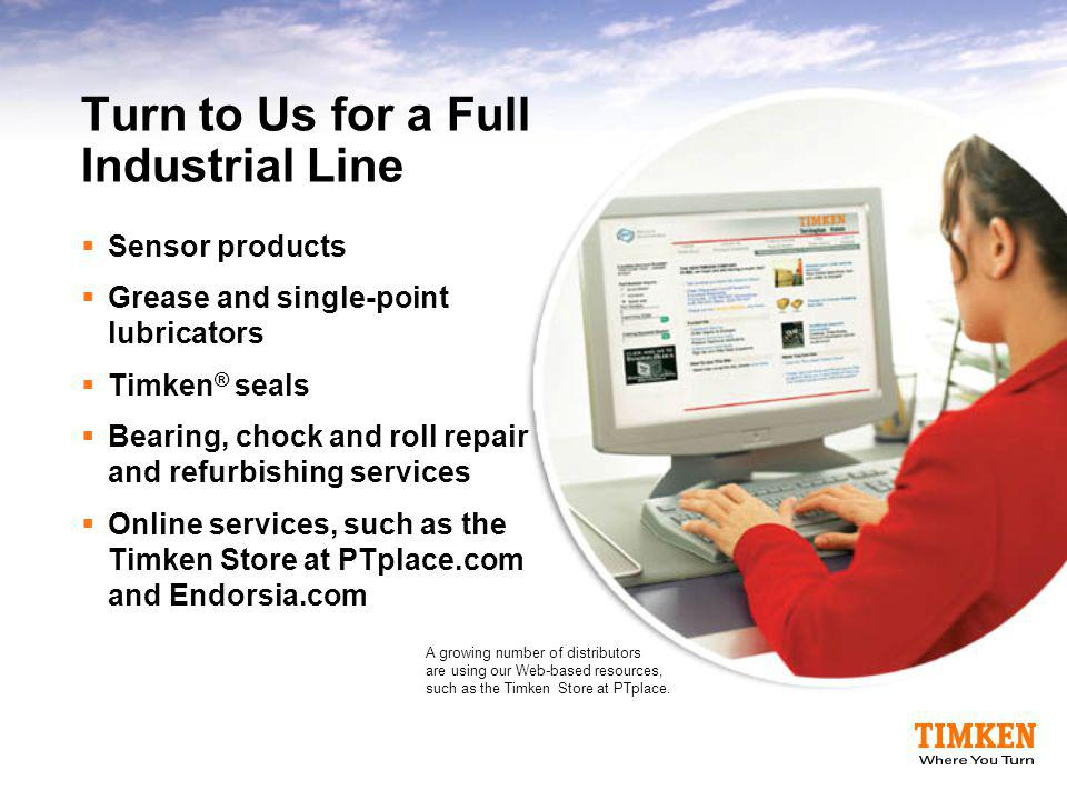 Turn to Us for a Full Industrial Line