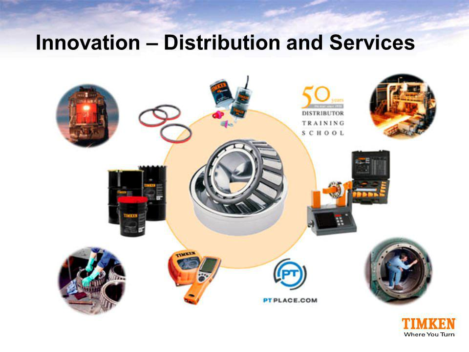 Innovation – Distribution and Services