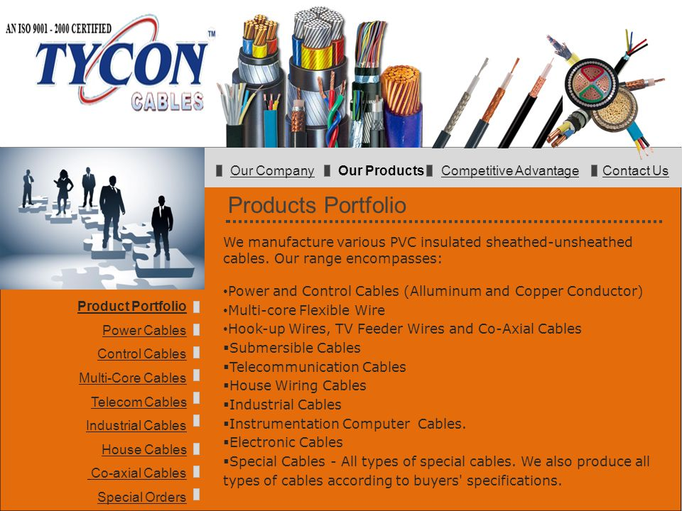 Our Company Our Products Competitive Advantage Contact Us