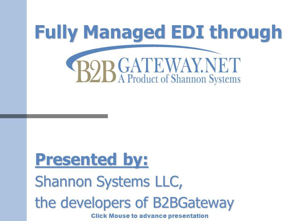 Fully Managed EDI through