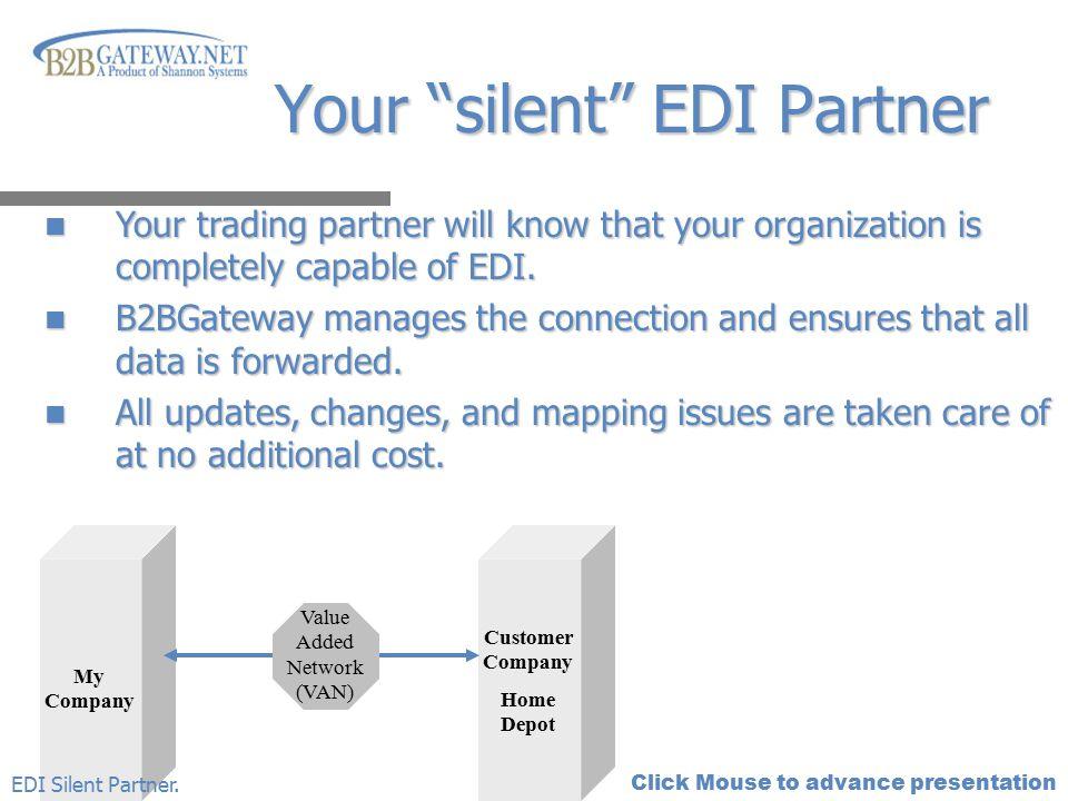 Your silent EDI Partner