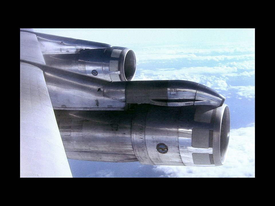 The JT3D – 1.4:1 turbofan.