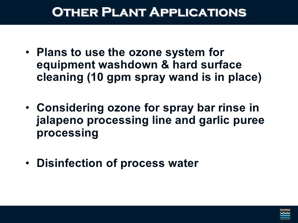 Other Plant Applications