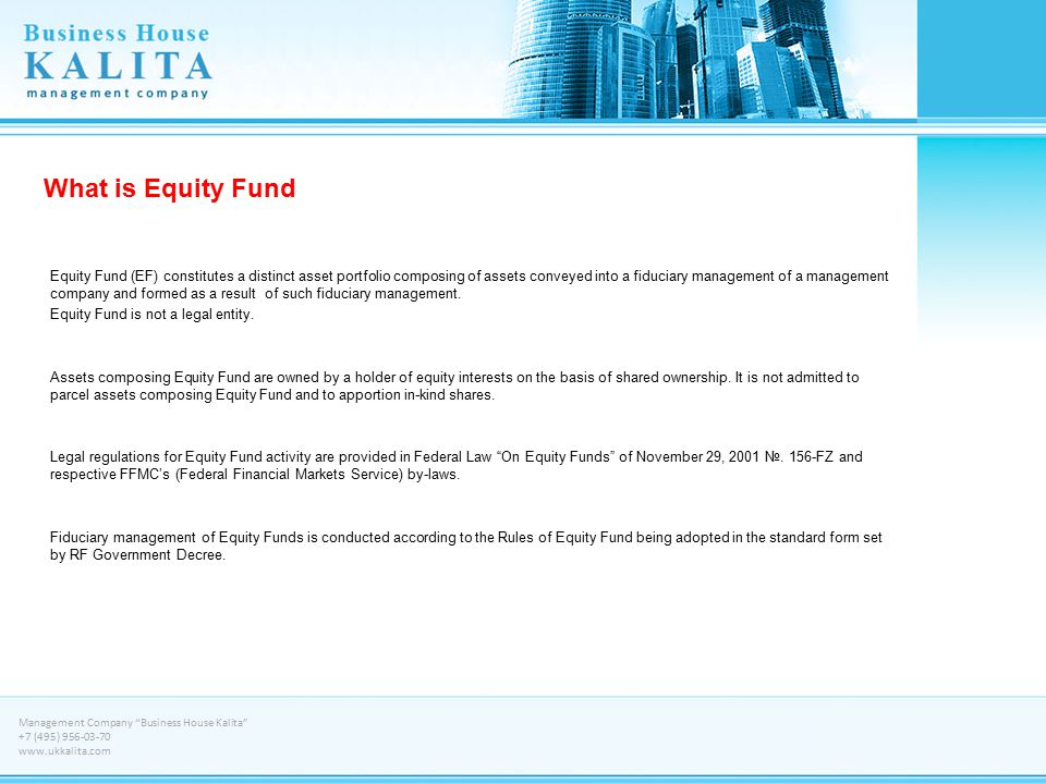 What is Equity Fund
